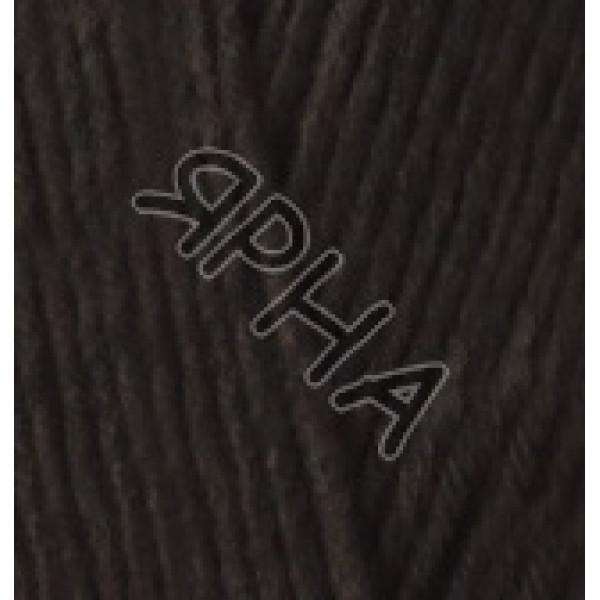 Пряжа в мотках Лана котон Alize (Ализе) #     60 [черный]