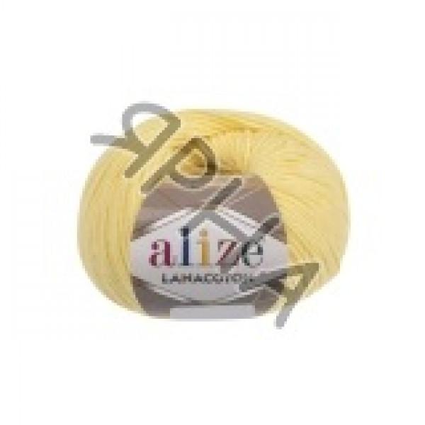 Пряжа в мотках Лана котон Alize (Ализе) #    187 [лимон]
