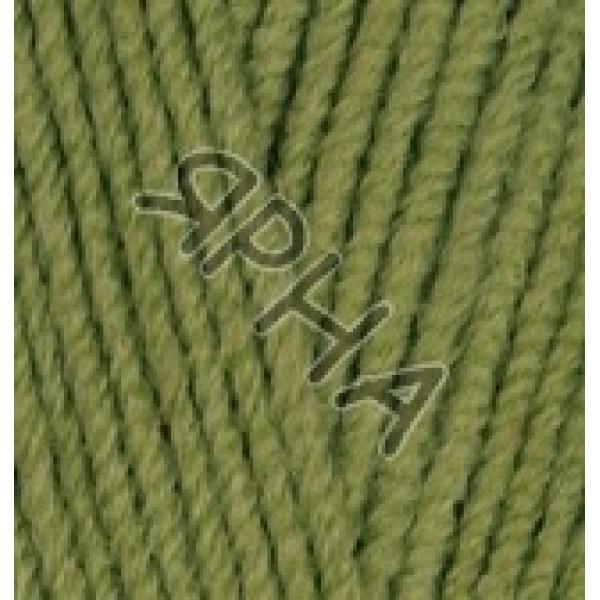 Пряжа в мотках Лана котон Alize (Ализе) #    485 [зеленый]