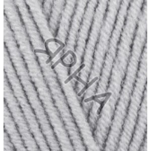 Yarn Лана котон Alize (Ализе) #    420 [серый]