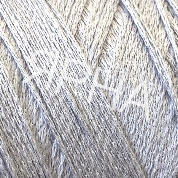 Yarn on cones Silk 100% 5000 НASEGAWA #     15 [серый]