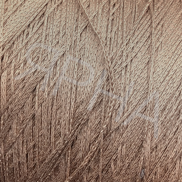 Yarn on cones Шелк конус кабле 6000 НASEGAWA #      7 [капучино]
