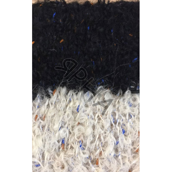 Boucle wool cone