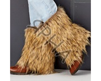 Fur-boot \ leg warmer \