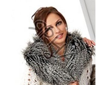 Мех-ворот\shawl\