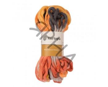 Wool decor print